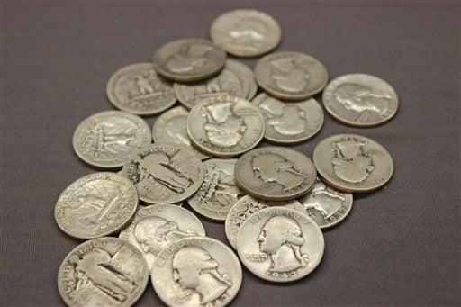 Pile of Junk Quarters